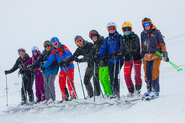 skireizen kleine groep