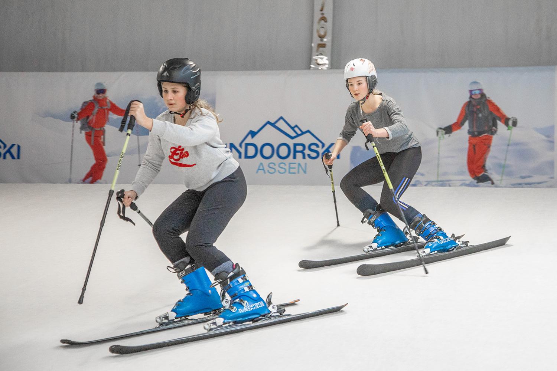 altijd een passende skiles of skitraining